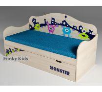 Детская низкая кровать Монстрики, артикул 40009
