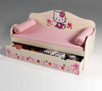 Кровать низкая для девочек Китик, артикул 40002