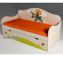 Кровать для детей Самолет, артикул 40008