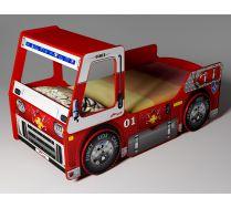 Пожарная машина - кровать для детей