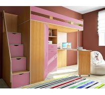 Кровать для детей Фанки Соло 1 - спальное место 200х80 см