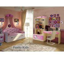 Готовая комната Китик + кровать со спинкой Ажур, арт. 40012
