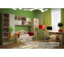 Комната 1 серии Винни Пух - готовый комплект детской мебели