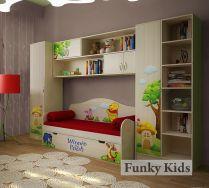 Комната 2 серии Винни Пух - готовый комплект детской мебели
