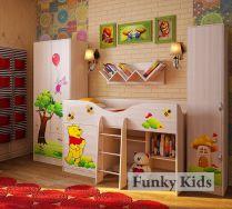 Комната 3 серии Винни Пух - готовый комплект детской мебели