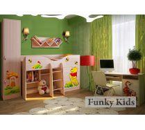 Комната 4 серии Винни Пух - готовый комплект детской мебели