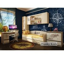 Мебель для детей Пираты - готовая комната 1