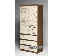 Двухсекционный шкаф для одежды Пираты, арт. ПР-08