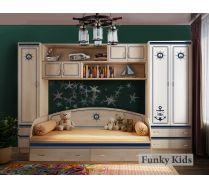 Детская мебель Капитан - готовый комплект №2