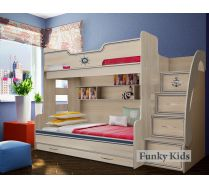 Детская двухъярусная кровать, арт. КП-21 Капитан