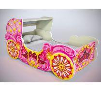 Детская кровать карета мини, арт. 20014 для девочек, цвета на выбор!