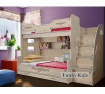 Кровать для троих детей Классика ФКК-21
