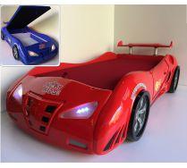Кровать машина с ящиком для белья Фанки Энзо 20015