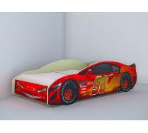 Кровать в виде машины Молния Лайт арт. 20016, сп. место 160х80 см