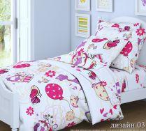 Птички Дрим - комплект детского постельного белья