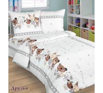 Детской постельное белья Друзья - 1.5 спальный комплект