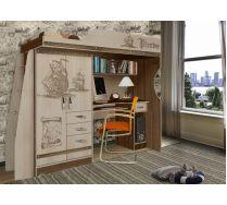 Кровать чердак Пираты ПР-4 для детей и подростков