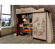 Кровать чердак Гарри Поттер ГП-4 для детей и подростков