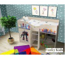 Детская кровать-чердак Трансформер, арт. 40018