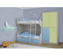 Мебель для детей Фанки Сити - композиция 8