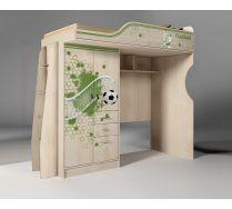 Кровать-чердак ФУТ-4/1 - мебель Футбол