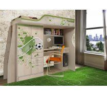 Мебель Футбол - кровать чердак ФУТ-4