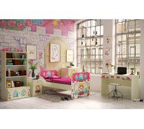 Детская комната № 2 серии Замок Принцессы - мебель для девочек