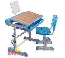 Детская растущая парта + стул  EVO-04 Mealux