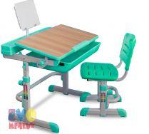 Парта трансформер + стул Mealux EVO-04
