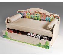 Детская одноярусная кровать Волшебный город, арт. 40022