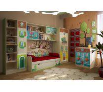 Детская мебель Волшебный город. Композиция 1