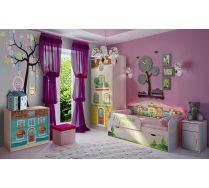 Детская мебель Волшебный город. Композиция 3