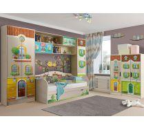 Детская мебель Волшебный город. Композиция 4