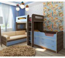 Комната Фанки Кидз для троих детей