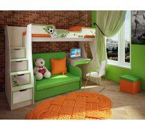 Детская мебель Фанки Кидз Футбол - готовая комната №5