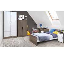 Мебель Фанки Кидз: кровать, письменный стол, тумба, два шкафа