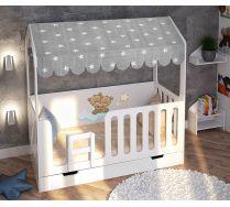 Детская кровать Домик Мишки Тедди