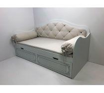 Кровать-диван Ноктюрн с мягкой спинкой