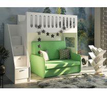 Кровать ДС 27 с раскладным диваном
