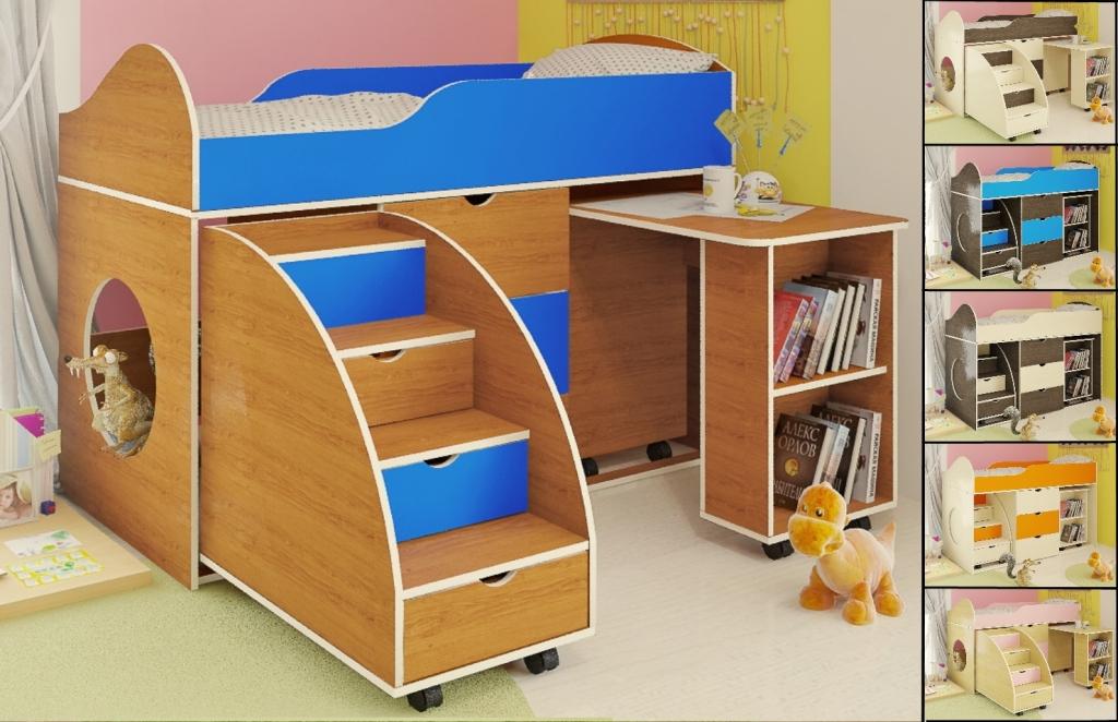 Кровать двухъярусная кровать с ящиками фото